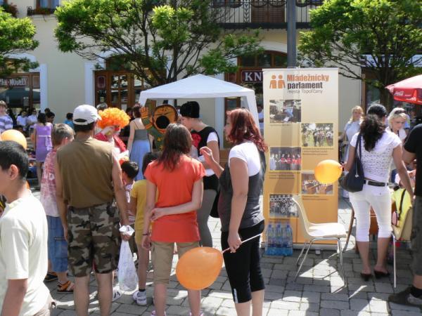 Topoľčiansky deň detí a festival hier a zábavy 2010